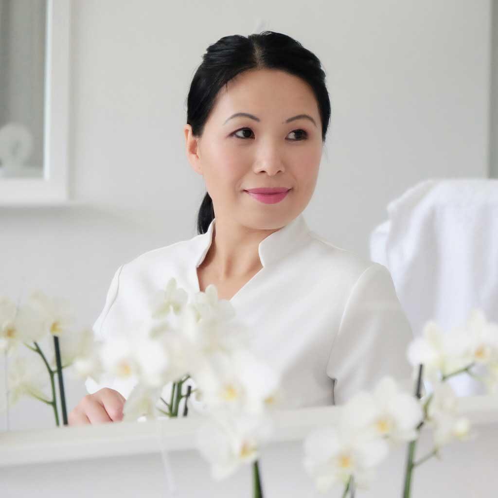Kosmetik Wang Portrait Frau Wang